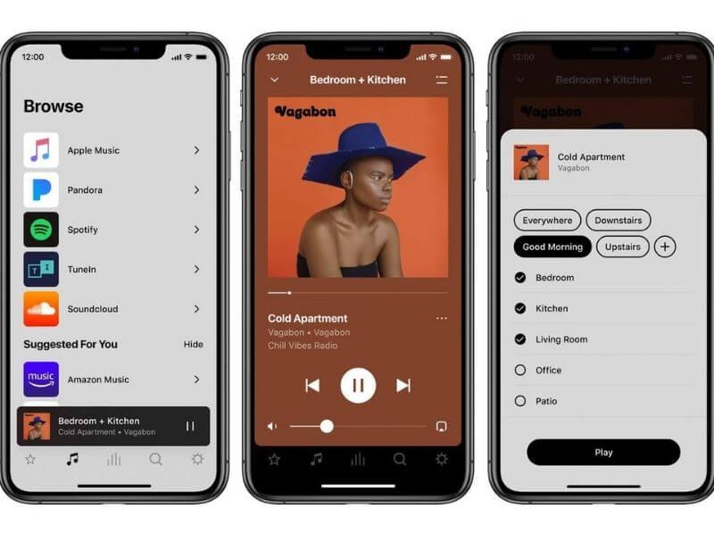 The Sonos app